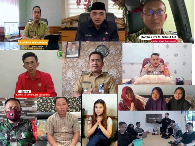 Ucapan di HUT Info Tangerang ke-2 tahun mengalir dari Ajudan Wapres, DPRD, Wali Kota Tangerang, Bupati Tangerang, artis, youtuber, danramil, kapolsek, camat, manager perumahan, dan letsgo corporate.(dok.infotangerang.co.id)
