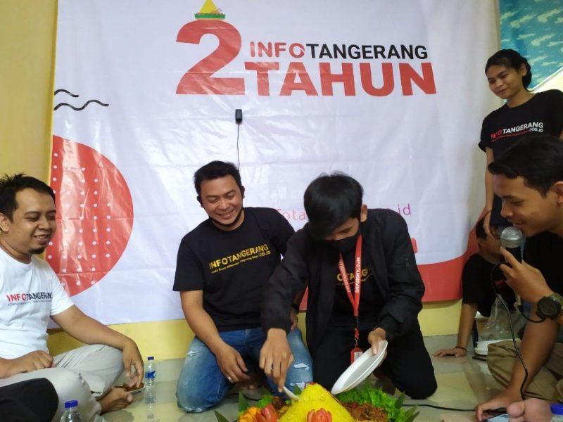 Anniversary @infotangerang.id ke-2 tahun. (dok.infotangerang.co.id)