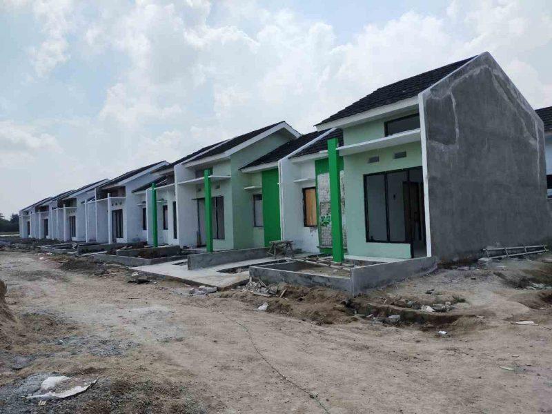 Foto: Perumahan syariah Al Kautsar Moslem City di Jalan Gintung Bambu, Kosambi, Kecamatan Sukadiri, Kabupaten Tangerang.