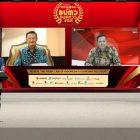 Foto: Kegiatan Bank Banten yang dilakukan secara virtual, Rabu (3/3/2021)