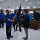 Pelantikan pengurus PWI Kota Tangerang periode 2021-2024, Jumat (9/4/2021).