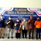 Pelantikan raker dan pelatihan dasar pengurus Muhammadiyah Disaster Management Center (MDMC), Sabtu (10/4/2021).
