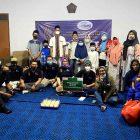 Pengurus dan Anggota SMSI Kabupaten Tangerang beri santunan kepada anak yatim dan membagikan sembako. (Foto: infotangerang.co.id)