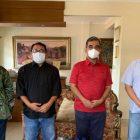 Jajaran SMSI Pusat temui Wakil Ketua MPR-RI bahas soal penembakan wartawan di Sumatera Utara. (dok. SMSI)