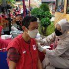 Kegiatan vaksinasi tahap 1 di Lapas Pemuda Kelas IIA Tangerang. (dok. infotangerang.co.id)