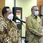 Mendagri Muhammad Tito Karnavian sampaikan apresiasi kepada Bupati Tangerang dan Forkopimda terkait penanganan Covid-19. (dok. infotangerang.co.id)