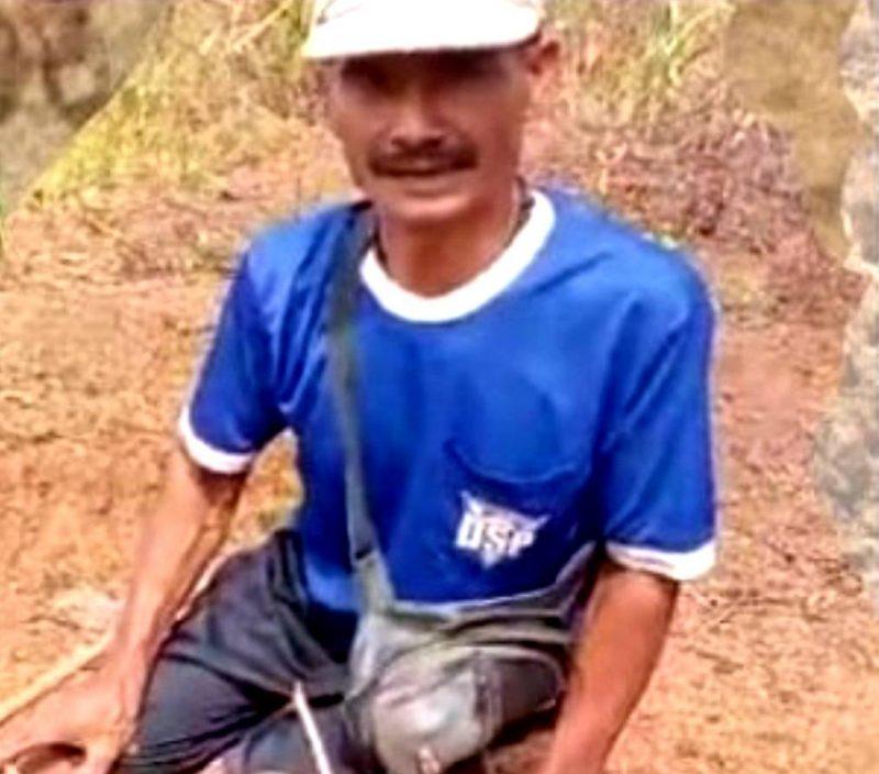 Rasmin seorang petani di Desa Sidajaya, Kecamatan Cipunagara, Subang, Jawa Barat.