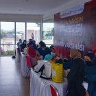 Pelaksanaan pogram Vaksin Presisi Polri Polsek Panongan, Polresta Tangerang, Senin (6/9/2021).