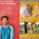 Polsek Kronjo-Polresta Tangerang menangkap pelaku penjual obat keras daftar G jenis tramadol dan hexymer. (Polresta Tangerang/infotangerang.co.id)